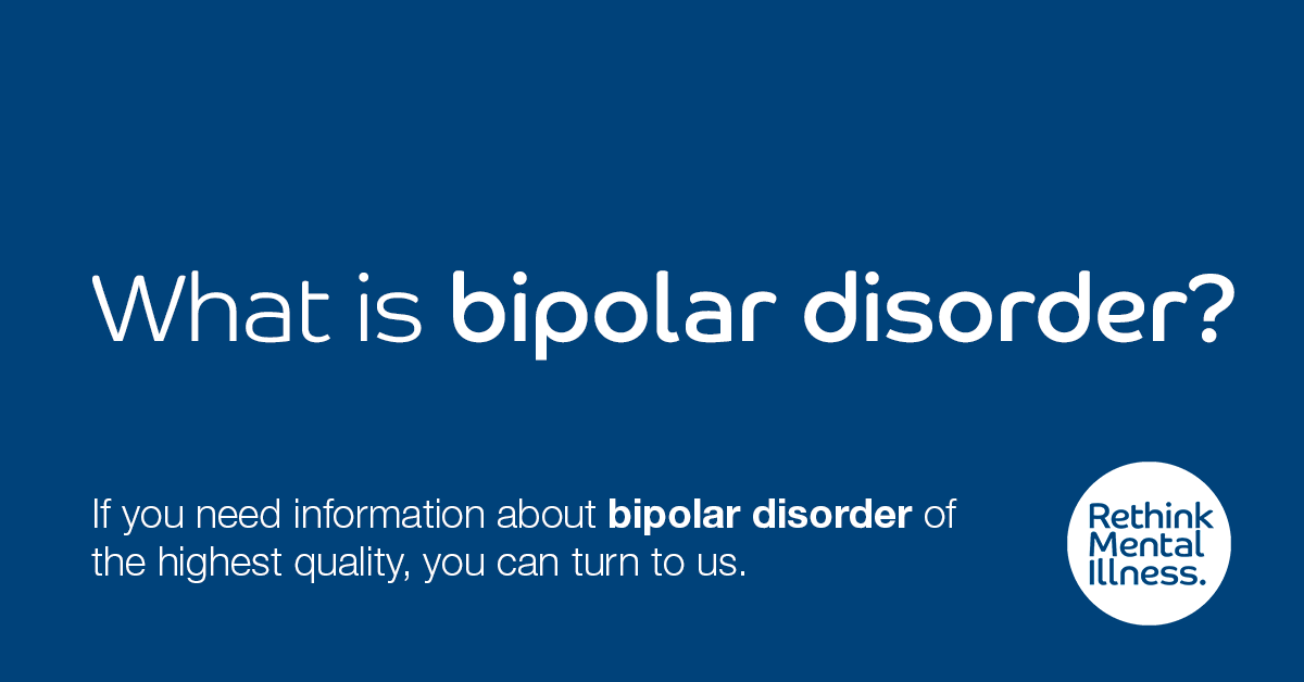 What are the signs and symptoms of bipolar disorder?